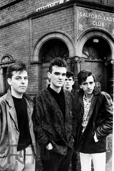 The Smiths at Salford Lads Club