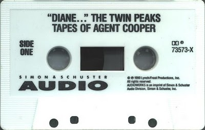 Twin Peaks Tapes Of Agent Cooper - Tape Side 1
